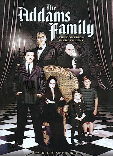 ADDAMS FAMILY VOL 1 BY ADDAMS FAMILY (DVD)