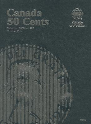 Canadian Fifty Cent Folder Starting 1953 By Whitman Publishing (COR)
