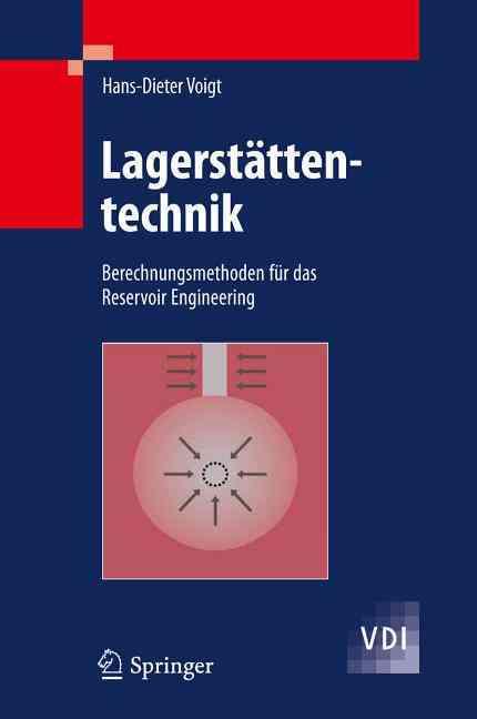 Lagerstattentechnik By Voigt, Hans-dieter